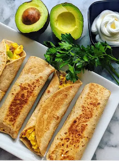 Keto Breakfast Burritos