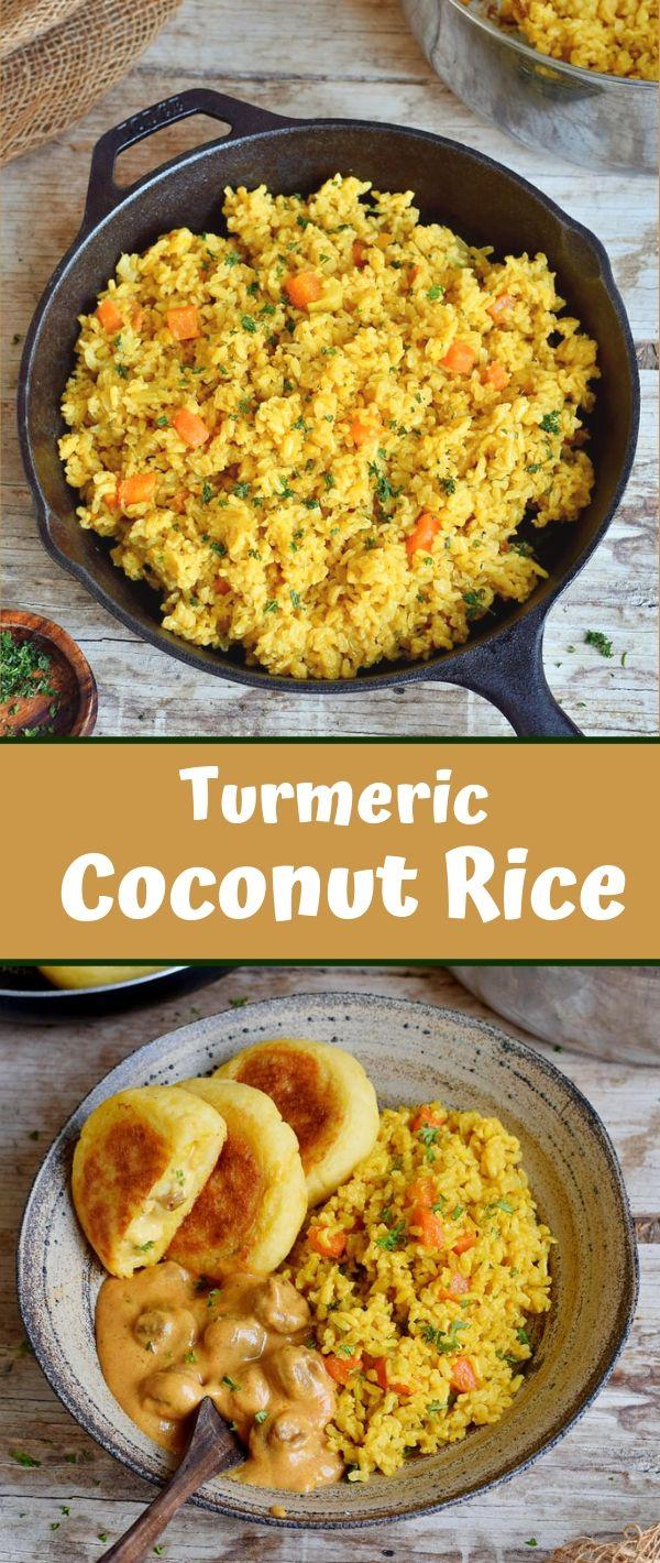 Turmеrіс Coconut Rісе #Turmеrіс #Coconut #Rісе Healthy Recipes For Weight Loss, Healthy Recipes Easy, Healthy Recipes Dinner,