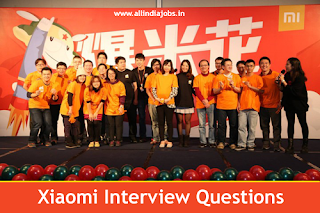 Xiomi Interview Questions