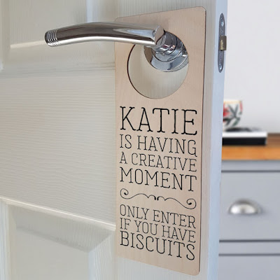 Personalised Door Hanger Craft Room