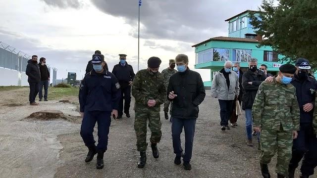 Χρυσοχοΐδης: Έτοιμος σε λίγους μήνες ο θωρακισμένος φράχτης στον Έβρο