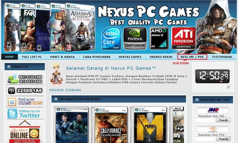 NEXUS PC GAMES
