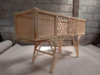 Rattan Plant Stand