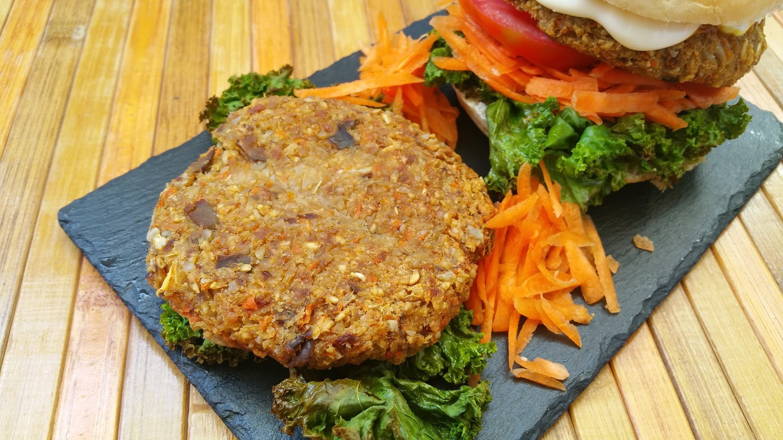 Vegspiration blog de inspiraci n vegana hamburguesas de - Calorias alubias cocidas ...