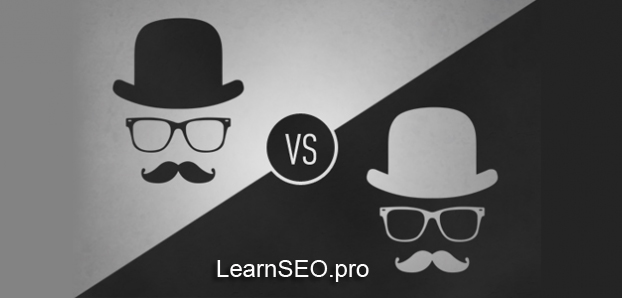 white vs black seo