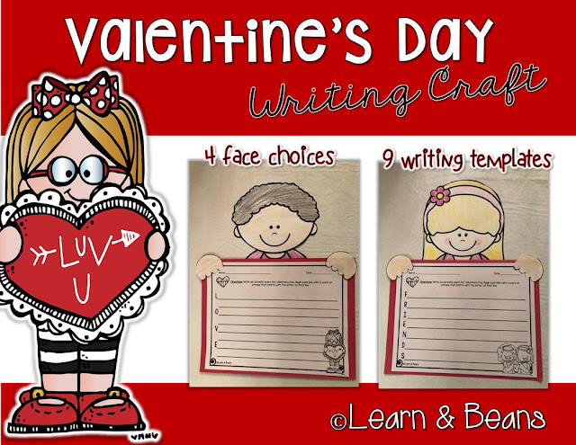 https://www.teacherspayteachers.com/Product/Valentines-Day-Writing-Craft-3617114