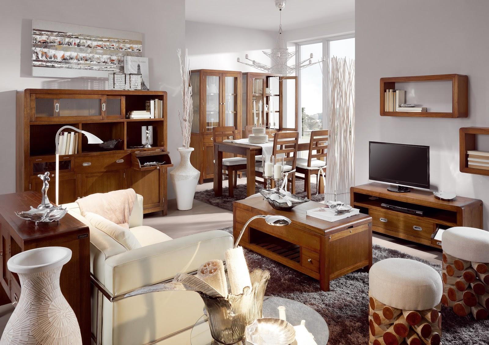 Muebles de sal n como decorar un salon colonial - Decoracion salon colonial ...