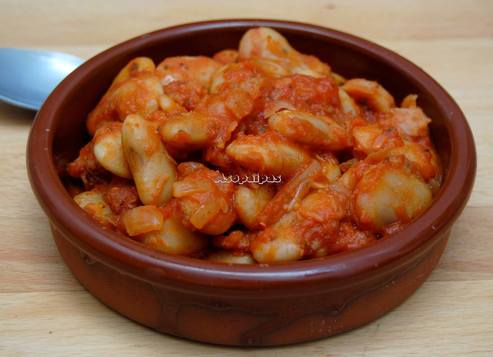 Judiones con Salsa de Tomate (Gigandes Plaki) Vídeo Receta
