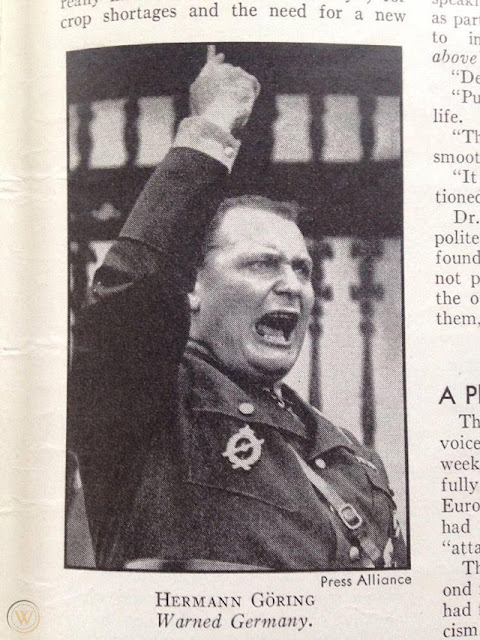 Hermann Goering as shown in Time Magazine, 1 June 1942 worldwartwo.filminspector.com