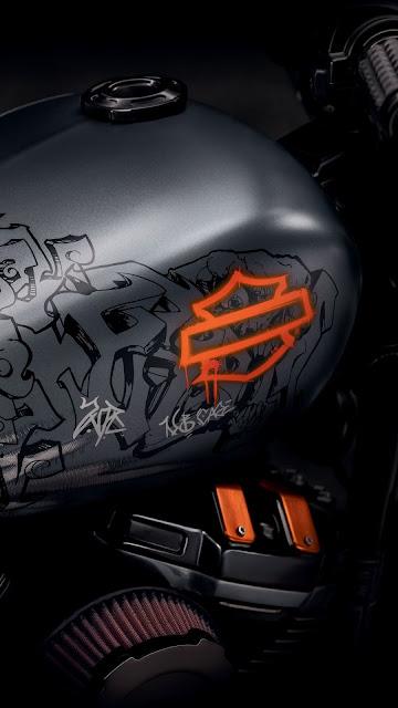 Papel de Parede Moto Harley Davidson, Hd, 4k.