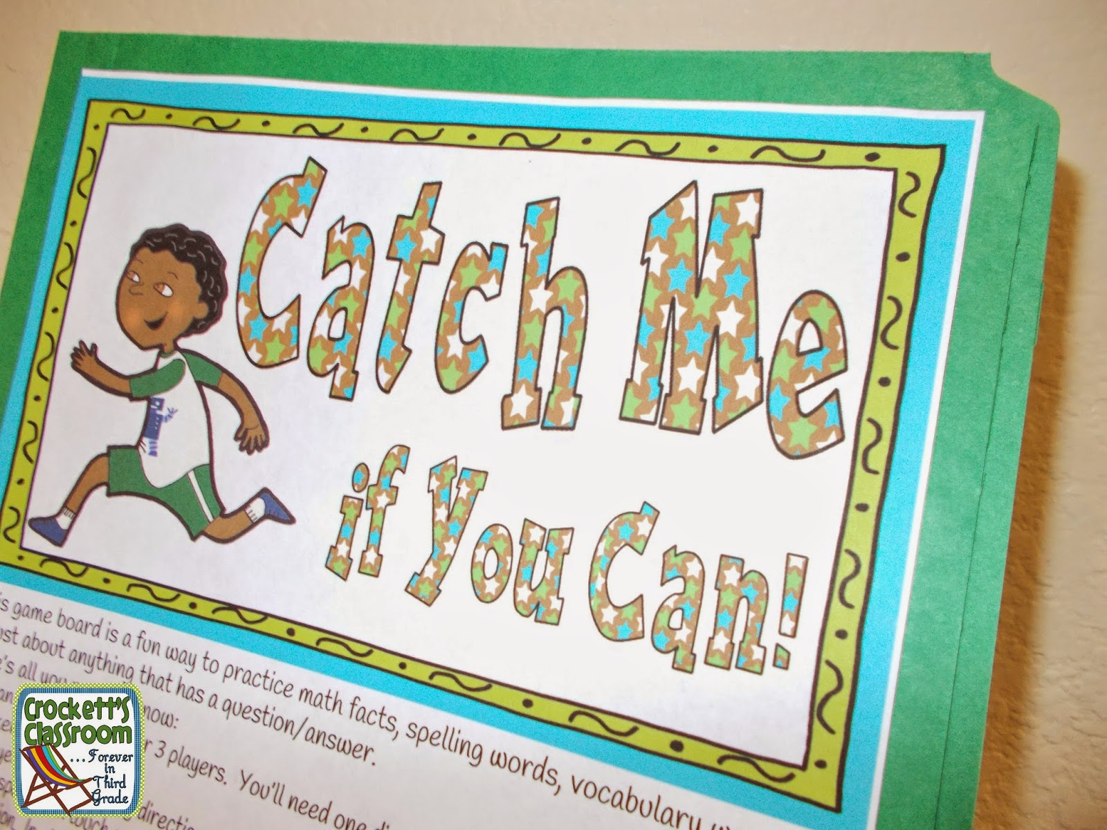 Catch Me if You Can--Crockett's Classroom