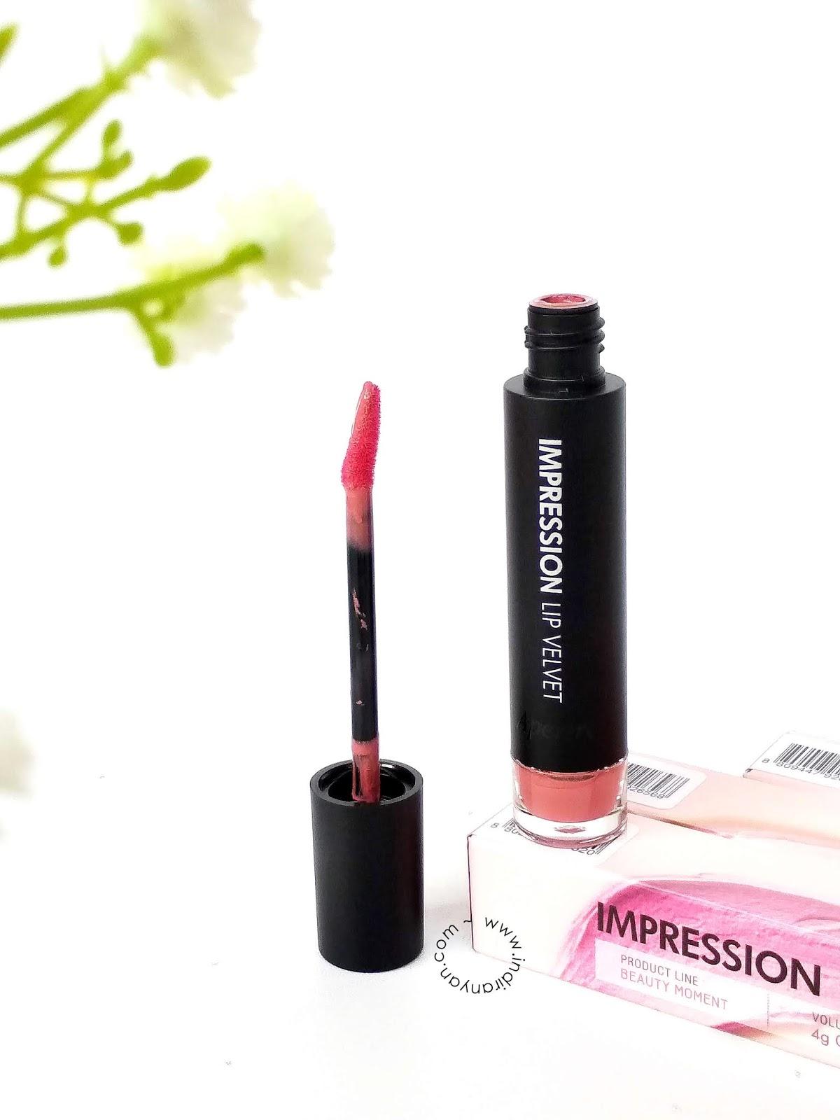 aperire-impression-lip-velvet, aperire-impression-lip-velvet-rose-bay
