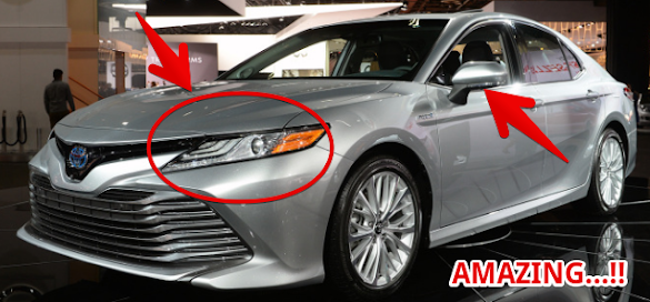 Detroit 2017 Auto Show : 2018 Toyota Camry | Made in America, great again