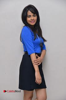 Actress Nandita Swetha Stills in Black Mini Skirt at Ekkadiki Potavu Chinnavada Movie Special Show  0018.JPG