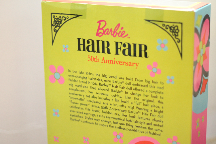 A Vintage Nerd 1960s Barbie Hair Flair Barbie Collector