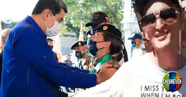 PAYASO | Maduro condecora a los funcionarios que dejaron escapar al Koki y al Garbis de la Cota 905