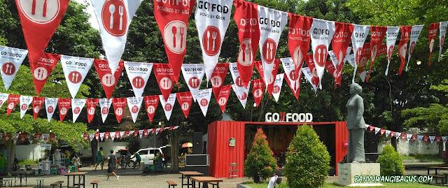 Pesta kuliner Go-Food di Banyuwangi.