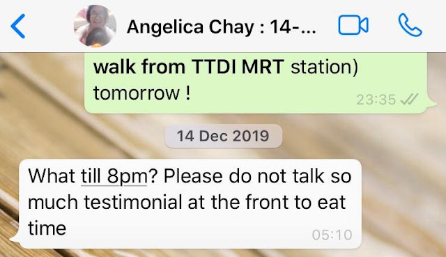 Angelica Chay MD gor gor on lowyat scam and review