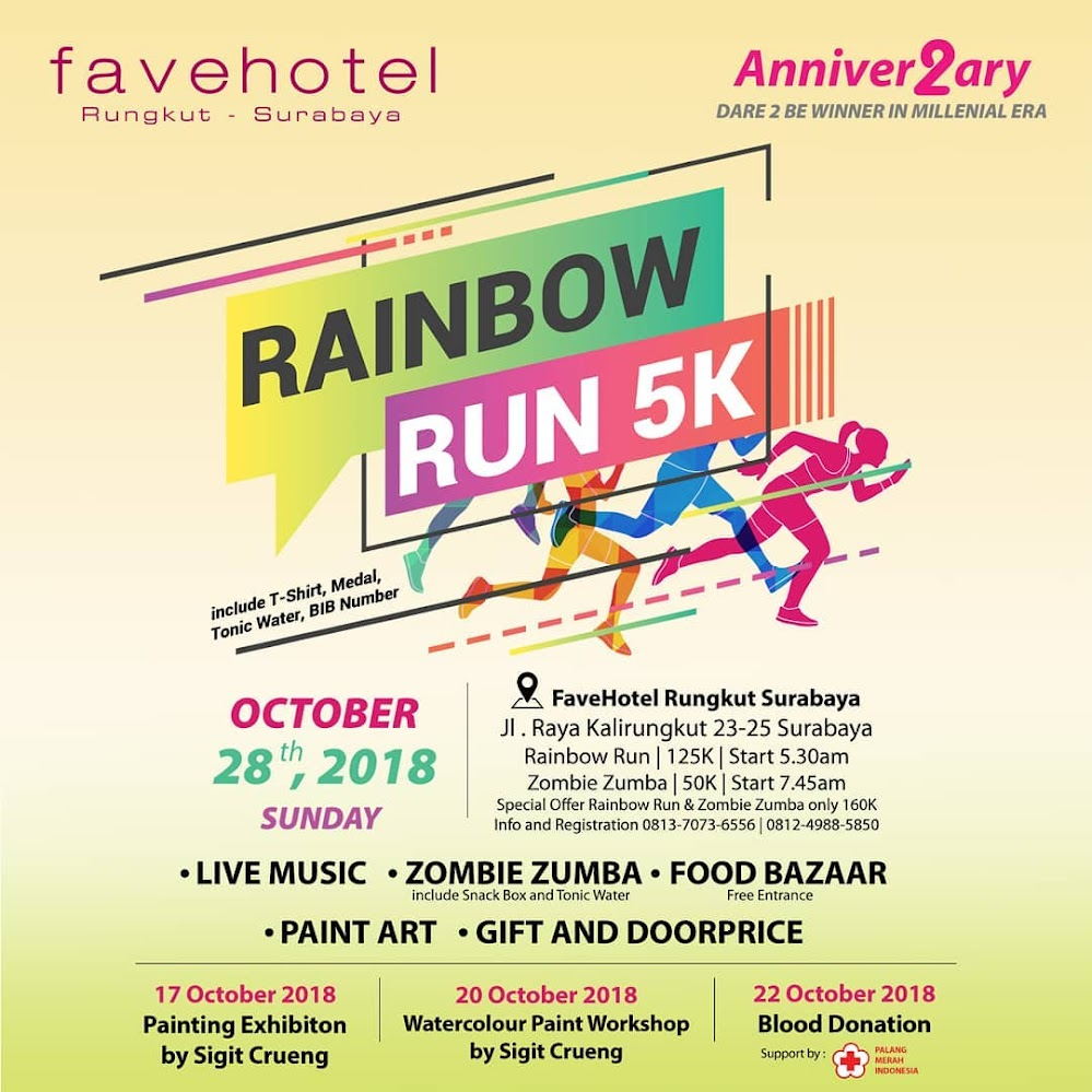 Favehotel Rainbow Run • 2018