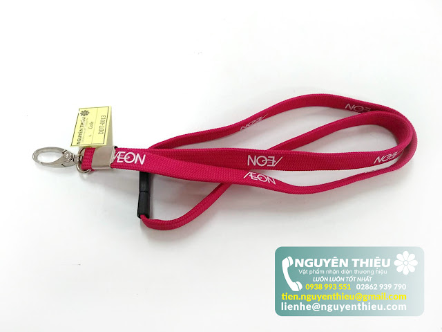 Sản xuất dây đeo thẻ giá rẻ, xưởng chuyên sản xuất dây đeo thẻ ở tp.HCM
