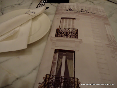 Madeleine Cafe Menu