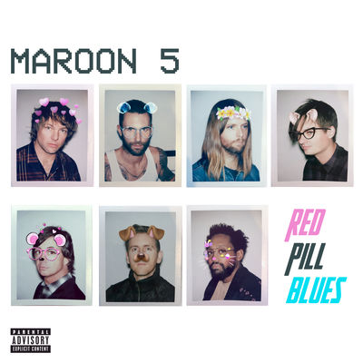 Maroon 5 - Red Pill Blues - Album Download, Itunes Cover, Official Cover, Album CD Cover Art, Tracklist