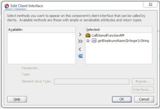 PL/SQL Stored function