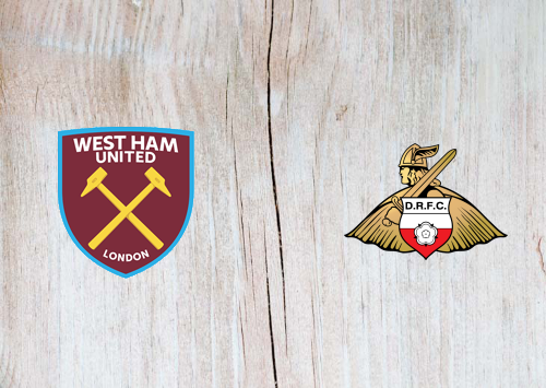 West Ham United vs Doncaster Rovers -Highlights 23 January 2021