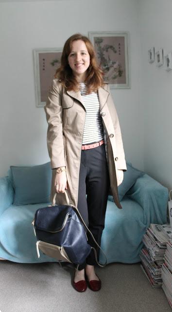 OOTD: Classic Stripes and Star Belt, Primark, Topshop, H&M, outfit, outfit of the day, fashion, fashion blogger