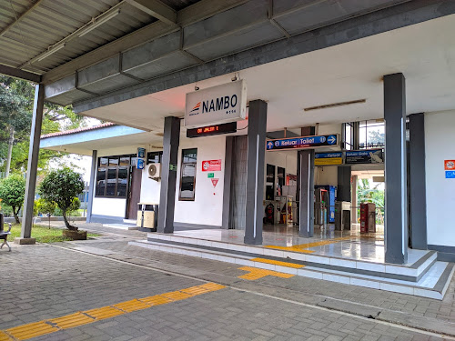 Pintu Masuk Stasiun Nambo