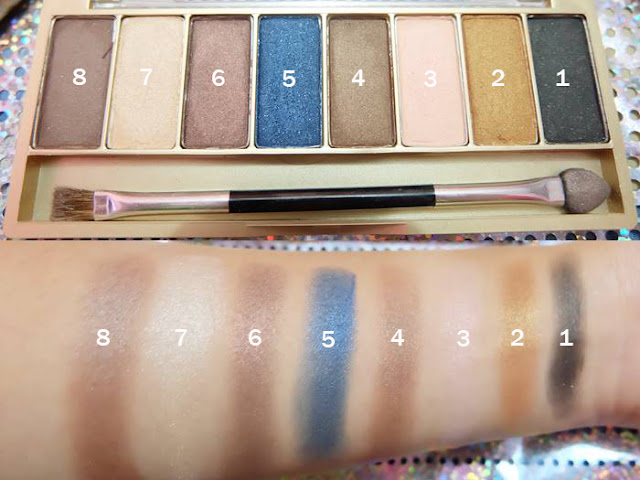 Koleksi Warna Eye Shadow Sariayu Tren Warna Gili Lombok