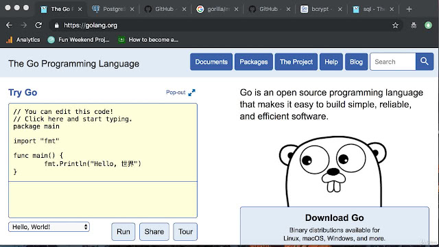 Golang: Introduction to REST API JWT auth with Golang