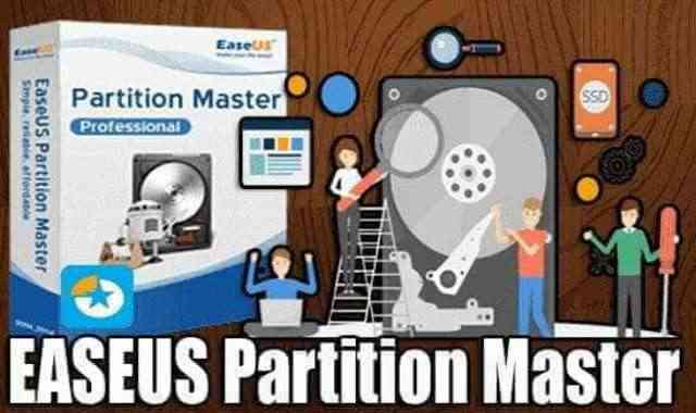 تحميل وتفعيل برنامج EaseUS Partition Master 16.0 عملاق تقسيم الهارد ديسك اخر اصدار