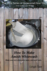 how to make whitewash with lime