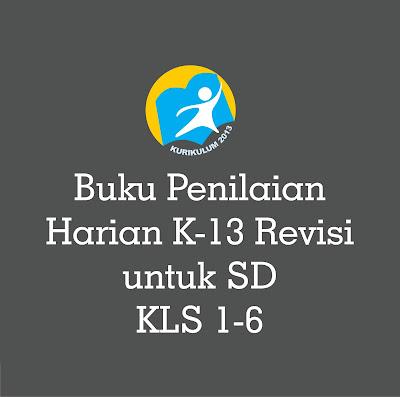 Download Buku Penilaian Harian SD Kurikulum 2013 Revisi 2018