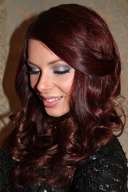 Pictures Of Dark Red Brown Hair Color John Frieda Kidskunst Info