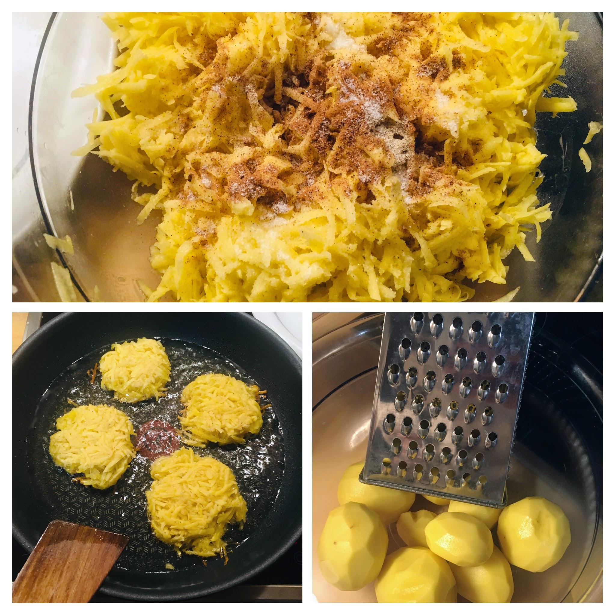 Cara membuat rösti kentang resep anak kos