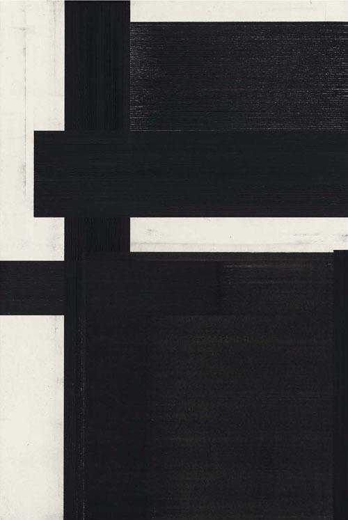 Arjan Janssen Untitled, 2010 conté and charcoal on paper 120 x 80 cm