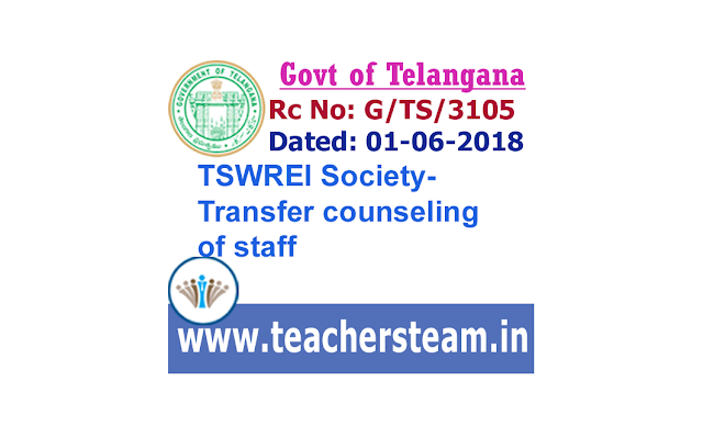 TSWREI TRANSFERS COUNSELING