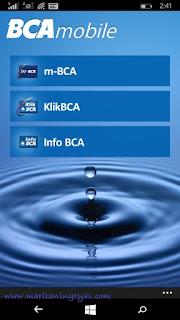 Tampilan Muka BCA Mobile