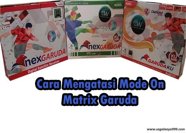 Mode On Matrix Garuda Cara Flashnya