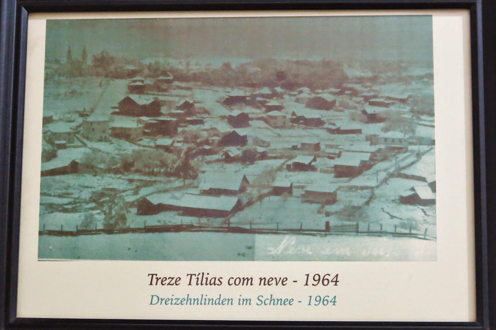 Foto na casa de Andreas Thaler, fundador de Treze Tílias