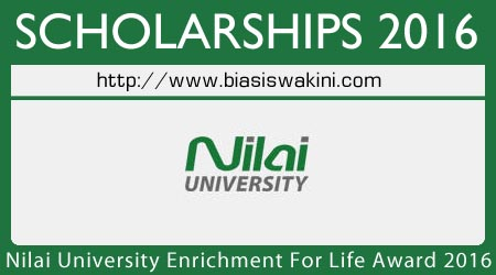 Nilai University Enrichment For Life Award 2016