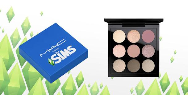 SIMS Eye Shadow palette