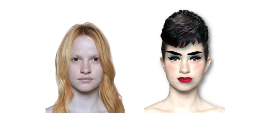 jak makijaż zmienia kobietę postarza
