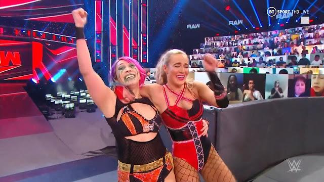Lana Asuka Nia Jax TLC Shayna Bazler WWE