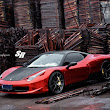 Engined Beasts: Chrome Red Ferrari 458 Italia by SR Auto Group