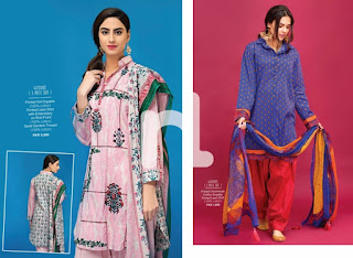 Nisha Lawn Unstitched S/S Collection 2017 Catalog