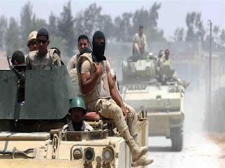 قامت القوات المسلحة المصرية باستئصال 118 تكفريًا   بشمال ووسط سيناء