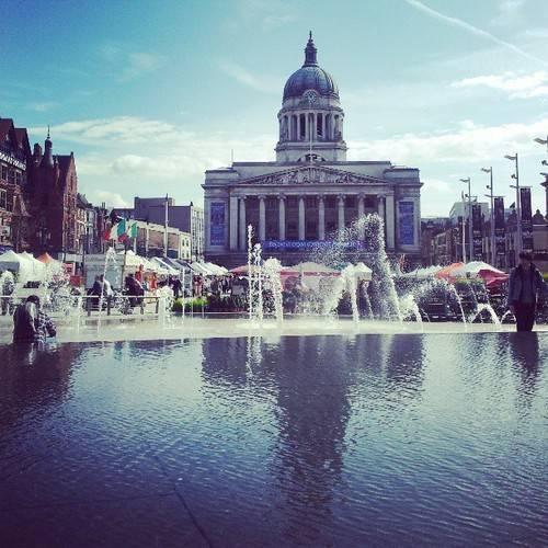Nottingham : Wordless Wednesday Blog Hop…